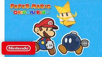 A Closer Look at Paper Mario The Origami King - Nintendo Switch