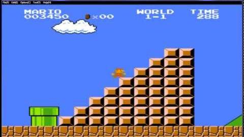 Lets play Super Mario Bros NES con una mano