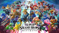 Super Smash Bros Ultimate Full Cover