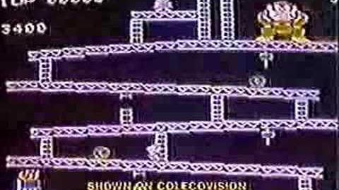 Donkey Kong commercial