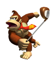 Donkey Kong dans MGTT