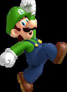 NSMBW Artwork Luigi 2