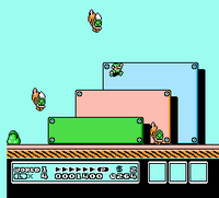 SMB3 Screenshot Luigi