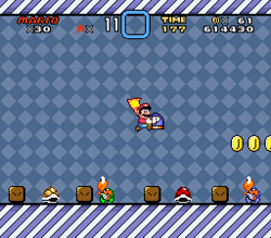 SMW Screenshot Roter Schalterpalast