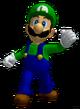 SSBM Sprite Luigi-Trophäe