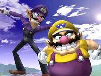 Wario y Waluigi en Super Smash Bros