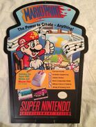 Mario-Paint-Nintendo-SNES-Promotional-Display-Official-Marketing-Item-2-sided