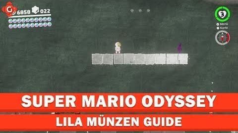 Super Mario Odyssey- Alle Sammelobjekte (lila Münzen - Mondland) - Collectible Locations Guide