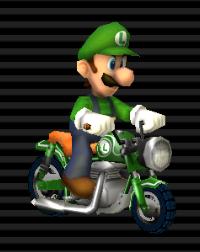 Cyclo Vroum - Luigi