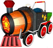 MKDD Barrel Train