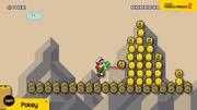 Pokey in Super Mario Maker 2