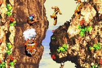 DKC3 Screenshot Cliffside Blast