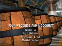 Four Weddings and a Coconut