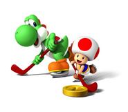 Mario Sports Mix Yoshi y Toad