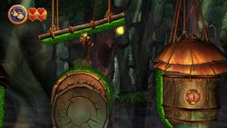 DKCR Screenshot Kletterschaukel