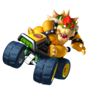 MK7 Artwork Bowser