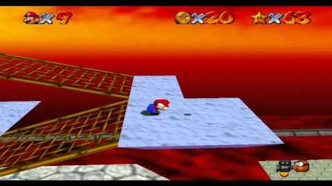 Super Mario 64 - Bowser in the Fire Sea