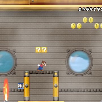 World 4 Airship New Super Mario Bros Wii Mariowiki Fandom