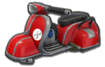 Corps Scooter rouge