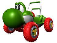 MKDD Turbo Yoshi