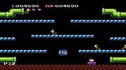 Mario Bros Gameplay NES Famicom