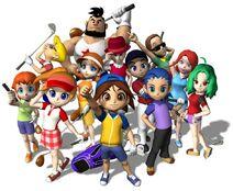 Люди из Mario Golf Advance Tour