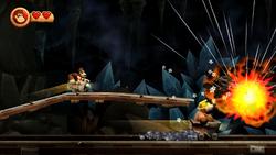DKCR Screenshot 4-3 Eine bombige Fahrt (Nähe 2. Puzzleteil)