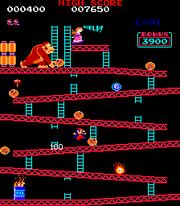 Donkey Kong аркада 25m