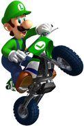 MKW Artwork Luigi 2