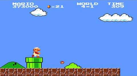 Super Mario Bros. - World 4-1