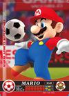 Carte amiibo Mario football