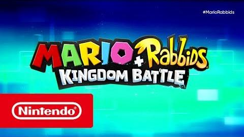 Mario Rabbids Kingdom Battle - Tráiler del E3 2017 (Nintendo Switch)-0