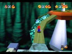 SM64 Screenshot Bowsers Schattenwelt