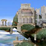SSBB Sprite Hyrule-Tempel