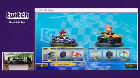 Mario Kart 8 Deluxe - new Battle mode footage (new options and courses)