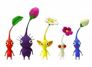 Original Pikmin with second generation