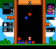 Wario's Woods Gameplay NES