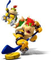 Artwork Bowser et Jr Mario Sports Mix