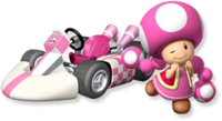 Artwork Toadette MKW