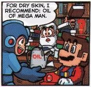 Dr. Light Mario cómic 6