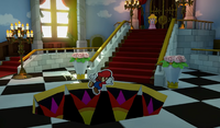 Origami Peach Trapping Paper Mario PM Origami King