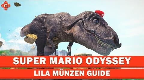 Super Mario Odyssey- Alle Sammelobjekte (lila Münzen - Kaskadenland) - Collectible Locations Guide