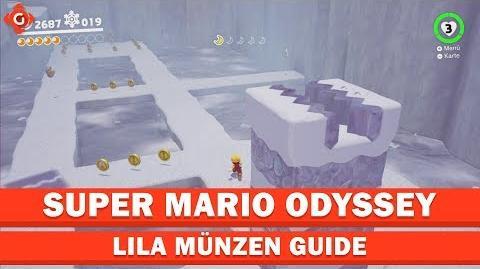 Super Mario Odyssey- Alle Sammelobjekte (lila Münzen - Polarland) - Locations Guide