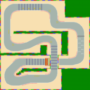 Circuit Mario 2 - MKSC (parcours)