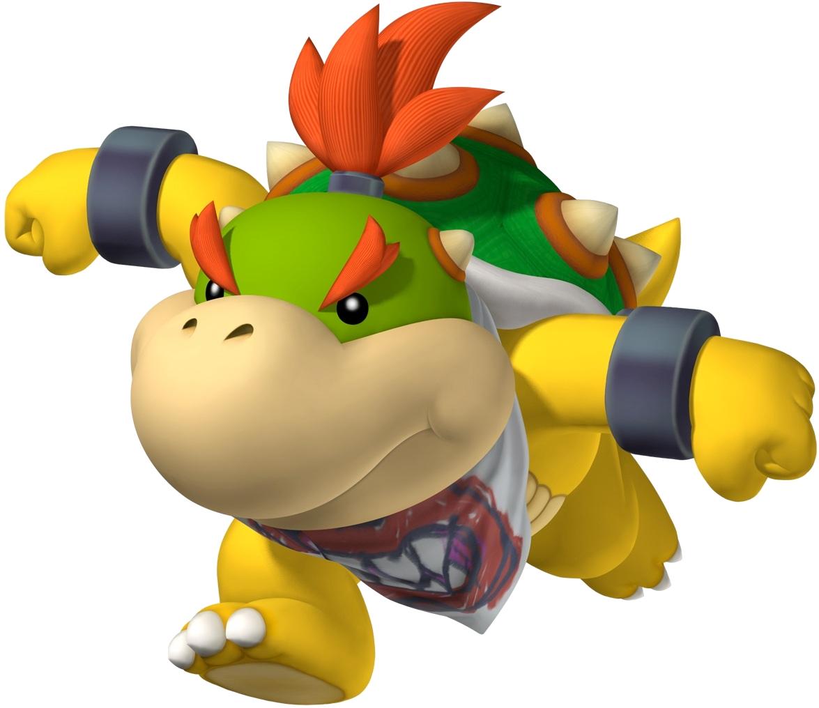 Bowser Jr Mariowiki Fandom Powered By Wikia Luigi Circuit Wii Super Mario Wiki The Encyclopedia New Bros