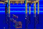 DKC3GBA Screenshot Wirbelnde Wellen 5