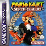 European Boxart (Mario Kart- Super Circuit)