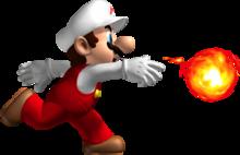 Mario de feu NSMB