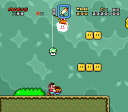 SMW Screenshot Wald der Illusion 4