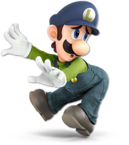 Art Luigi bleu foncé Ultimate